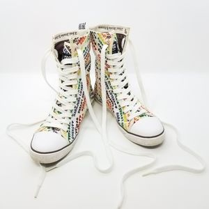 Harajuku Lovers Kogal High Top Sneakers Cute